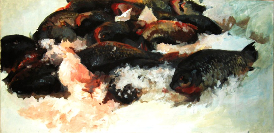 """Fish 2"" acrylic on canvas 150x100.jpg"
