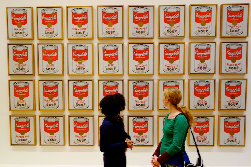 andy-warhol-and-campbells-new-cream-of-chicken-soup-1949